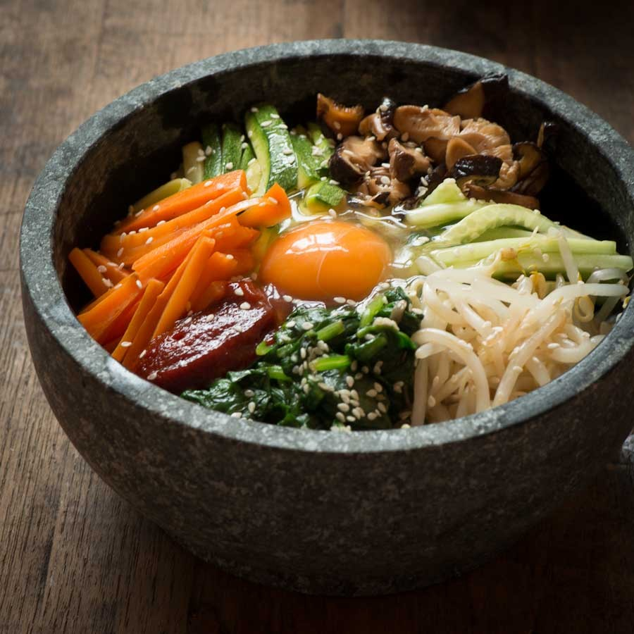 dolsot-bibimbap-vegetable
